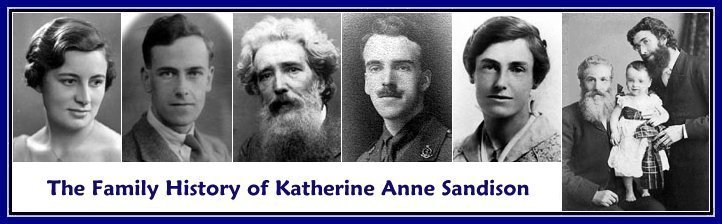 The Family History of Katherine Anne Sandison